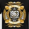 October 1963 54 Years Of Being Awesome - Men's Premium T-Shirt
