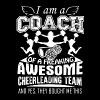 Proud Cheerleading Coach Shirt - Men's Premium T-Shirt