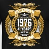 December 1976 41 Years Of Being Awesome - Men's Premium T-Shirt