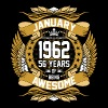 Jan 1962 56 Years Awesome - Men's Premium T-Shirt