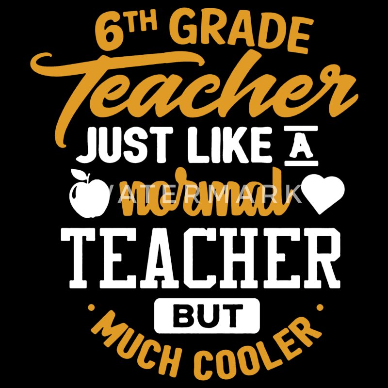 6th Sixth Grade Teacher T-shirt - Men's Premium T-Shirt
