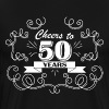 Cheers to 50 years - Men's Premium T-Shirt