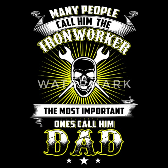 ironworker, union ironworker, ironworkers job line Men's