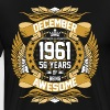 December 1961 56 Years Of Being Awesome - Men's Premium T-Shirt