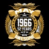 May 1966 52 years of Being Awesome - Men's Premium T-Shirt