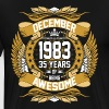 December 1983 35 years of Being Awesome - Men's Premium T-Shirt