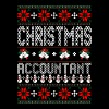 Accountant Ugly Christmas Sweater - Men's Premium T-Shirt