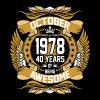 October 1978 40 years of Being Awesome - Men's Premium T-Shirt