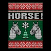 Horse Ugly Christmas Sweater - Men's Premium T-Shirt