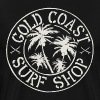 Gold Coast Surf print - Men's Premium T-Shirt