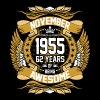 November 1955 62 Years Of Being Awesome - Men's Premium T-Shirt