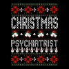 Psychiatrist Ugly Christmas Sweater - Men's Premium T-Shirt
