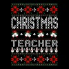Teacher Ugly Christmas Sweater - Men's Premium T-Shirt
