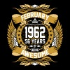 Feb 1962 56 Years Awesome - Men's Premium T-Shirt