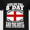 English - On the 8th day god created the English - Men's Premium T-Shirt