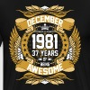 December 1981 37 years of Being Awesome - Men's Premium T-Shirt