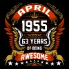 April 1955 63 Years Of Being Awesome - Men's Premium T-Shirt