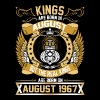 The Real Kings Are Born On August 1967 - Men's Premium T-Shirt