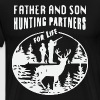 Father and son hunting partner for life - Men's Premium T-Shirt