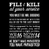The hobbit - Fili kili at your service awesome tee - Men's Premium T-Shirt