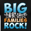Big Families Rock Family Reunion - Men's Premium T-Shirt