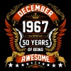 December 1967 50 Years Of Being Awesome - Men's Premium T-Shirt
