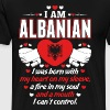 I Am Albanian - Men's Premium T-Shirt