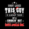 Smoking hot South African girl - Sorry ladies - Men's Premium T-Shirt