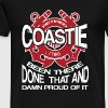 Retired Coastie - Been there done that and proud - Men's Premium T-Shirt