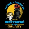 Father and Daughter in the Galaxy - Men's Premium T-Shirt