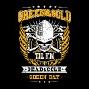 Green Bay - Green & gold till I'm dead & cold - Men's Premium T-Shirt