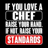 Chef chef humor pastry chef design dinner chef p - Men's Premium T-Shirt