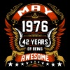 May 1976 42 Years Of Being Awesome - Men's Premium T-Shirt