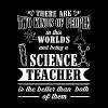 Science teacher - Is the best kind of people tee - Men's Premium T-Shirt