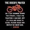 Biker's prayer - Please dear God protect my ride - Men's Premium T-Shirt
