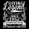 Living Legend Since 1952 Legends Never Die - Men's Premium T-Shirt
