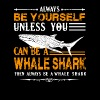 Always Be A Whale Shark Shirt - Men's Premium T-Shirt
