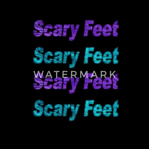monster s inc scary feet by laurentkenny spreadshirt