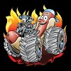 Hot Dog Monster Truck 1 - Men's Premium T-Shirt