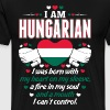 I Am Hungarian - Men's Premium T-Shirt