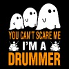 You Cant Scare Me Im Drummer Halloween - Men's Premium T-Shirt