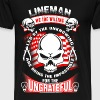 Lineman - We are doing the impossible t-shirt - Men's Premium T-Shirt