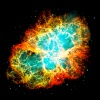 Supernova, Crab Nebula, Space, Galaxy, Milky Way - Men's Premium T-Shirt