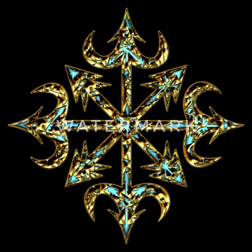 Chaos Star Symbol Of Chaos Gold Everything Has Meaning And Magic
