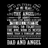 He Is My Dad And Angel Shirt - Men's Premium T-Shirt
