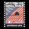 Off road Truck Patriotic US Flag T shirt - Men's Premium T-Shirt