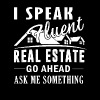 Speak Fluent Real Estate Shirt - Men's Premium T-Shirt