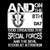 The Special forces - The devil stood at attention - Men's Premium T-Shirt