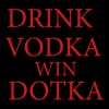 2 Drink vodka win dotka - Men's Premium T-Shirt