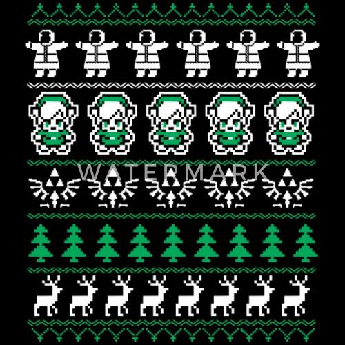 zelda christmas sweater for legend of zelda fans by dt888 spreadshirt - Legend Of Zelda Christmas Sweater